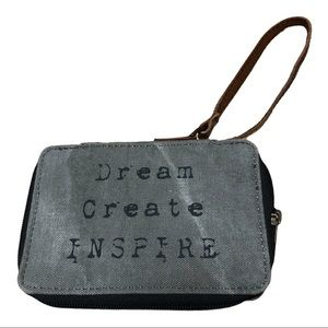 Mona B. Dream Create Inspire Wristlet